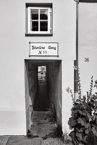 Petersens Gang, An der Obertrave 55