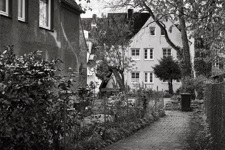 Petersens Gang (Heynaths Gang), Hartengrube 36, Lübeck, Deutschland