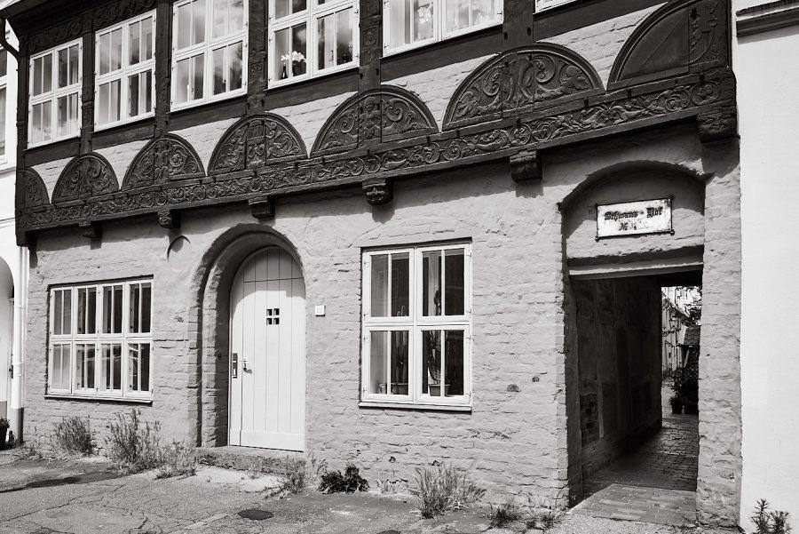 Schwans Hof, Hartengrube 18