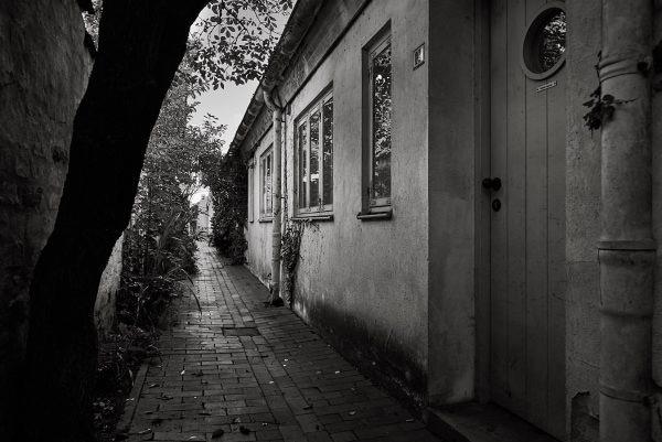 Schlachter-Gang, Innenhof, Engelsgrube 48