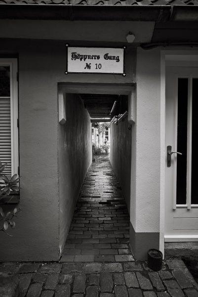 Höppners Gang, Petersilienstraße 10