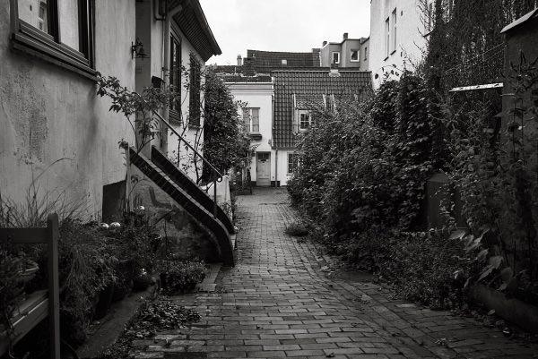 Käselaus Gang, Innenhof, Große Burgstraße 41