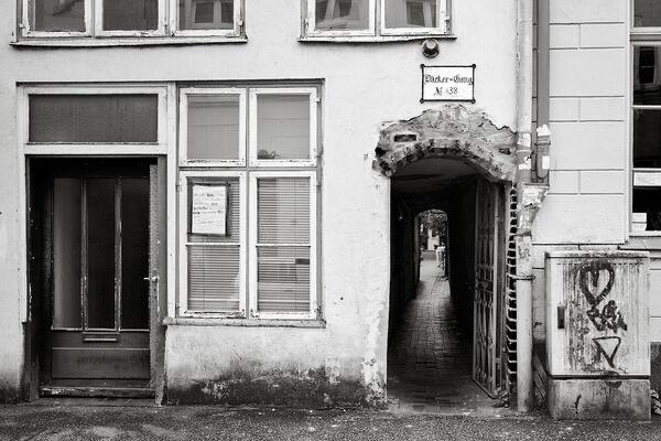 Bäcker-Gang, Glockengießerstraße 38